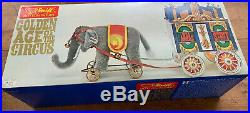 VINTAGE Steiff Golden Age Of Circus Elephant & Calliope Train Car NEW OLD STOCK
