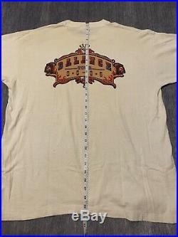 Van Halen Vintage Rock Concert T Shirt Balance Tour 1995 1996 Circus Clown Sz XL