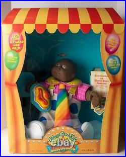 Vintage 1980s Cabbage Patch Kid Doll AFRICAN AMERICAN CLOWN AT CIRCUS MINT N BOX