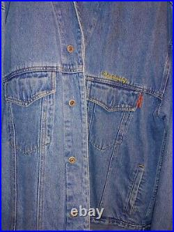 Vintage 70s Ringling Bros. And Barnum Bailey Circus Denim Jacket, XL, Presented By