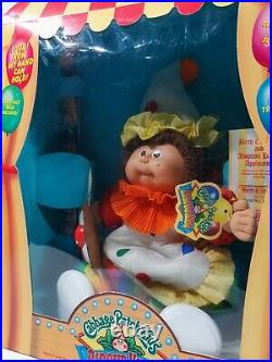 Vintage Cabbage Patch Kids Circus Kids Doll-New In Box Sabrina Adelle Girl