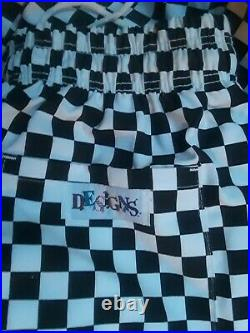 Vintage Checkered Hat Pants Shirt Leather Fat Toe Shoes Circus CLOWN COSTUME