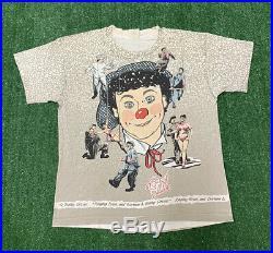 Vintage Ringling Bros Barnum Bailey Circus T-Shirt Sz XL All Over Print Rare