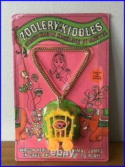 Vintage Zoolery Kiddles Circus Wagon Playful Panther 3667 1968 MOC RARE Mattel
