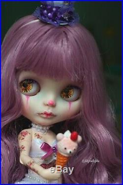 Vintage circus custom tbl blythe doll